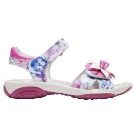 Primigi Dívčí květinové sandály - bílo-růžové