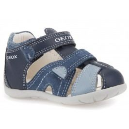 Geox Chlapecké sandály Kaytan - modré