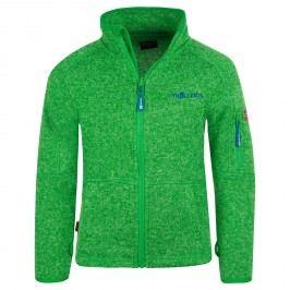 Trollkids Chlapecká fleecová bunda Jondalen - zelená