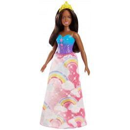 MATTEL Barbie princezna - žlutá čelenka