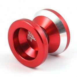 Teddies Jojo N8 - Dare to do 4,5x4cm hliník/kov červená
