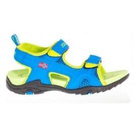 Trollkids Chlapecké Kids Orrestrand sandály - světle modro-zelené
