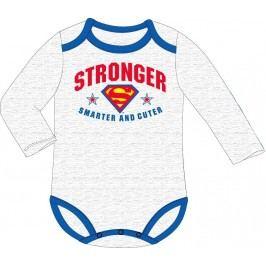 E plus M Chlapecké body Superman  - šedé