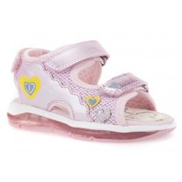 Geox Dívčí sandály Todo - růžové