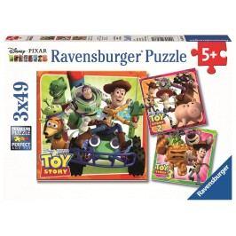 Ravensburger Toy Story historie hraček 3x49 dílků