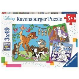 Ravensburger Disney kamarádi 3x49 dílků