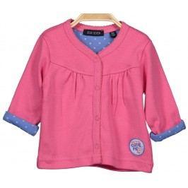 Blue Seven Dívčí propínací kabátek - růžový