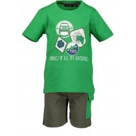 Blue Seven Chlapecký set trička a kraťasů - zelený