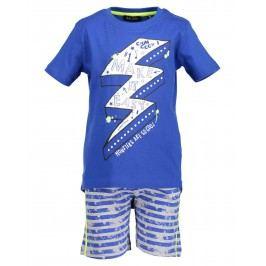 Blue Seven Chlapecký set tílka a kraťasů - modrý