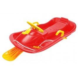 Sulov Bob plastový s volantem - červený