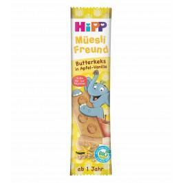 HiPP BIO Müsli tyčinka Máslové sušenky-Jablko-Vanilka 12x20g