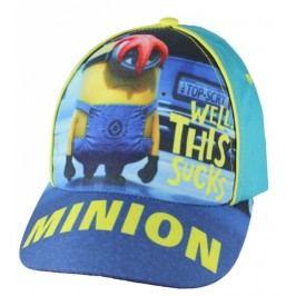 E plus M Chlapecká kšiltovka Mimoni - modrá