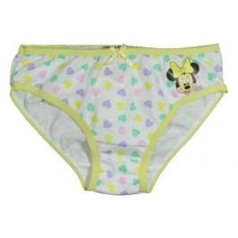 E plus M Dívčí kalhotky Minnie - žluté