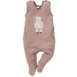 Pinokio Dětské dupačky Teddy Bear - hnědé