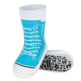 SOXO® Dětské ponožky s podrážkou Tenisky - modré