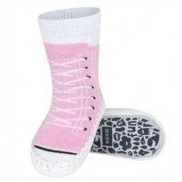 SOXO® Dívčí ponožky s podrážkou Tenisky - růžové