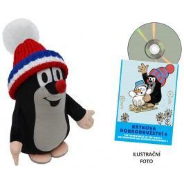 MÚ Brno Krtek 25cm kulich +DVD