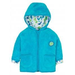 G-mini Chlapecký zateplený kabátek Dino - modrý