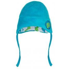 G-mini Chlapecká čepice Dino - modrá
