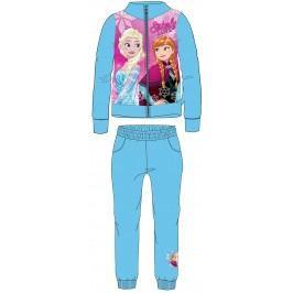 E plus M Dívčí tepláková souprava Frozen - modrá