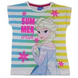 E plus M Dívčí tričko Frozen - barevné