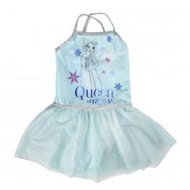 Disney Brand Dívčí šaty Frozen - světle modré