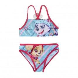 Disney Brand Dívčí dvoudílné plavky Paw Patrol - barevné