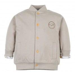G-mini Dětský oboustranný kabátek Medvídek - barevný