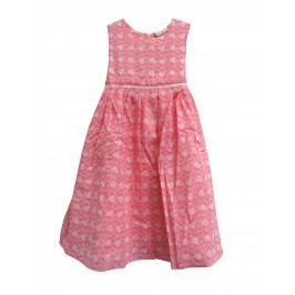 Topo Dívčí šaty se srdíčky - růžové