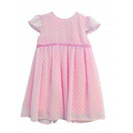 Topo Dívčí tylové šaty - růžové