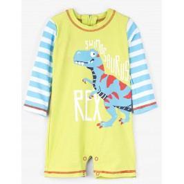 Hatley Chlapecký plavecký overal s dinosaurem UV 50+ - barevný