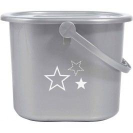 Bebe-jou Kyblík na pleny s víkem Silver Stars
