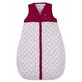 G-mini Dívčí spací pytel Zajíček - červeno-bílý, velikost 70