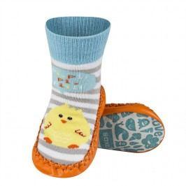 SOXO® Dětské ponožky s podrážkou Kuřárko - barevné