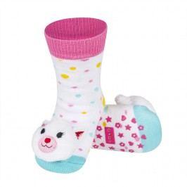 SOXO® Dívčí ponožky s kočičkou - barevné