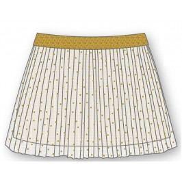 Mix 'n Match Dívčí skládaná sukně - zlatá