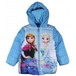 E plus M Dívčí bunda Frozen - modrá
