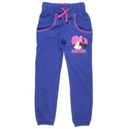 E plus M Dívčí tepláky Minnie - modré