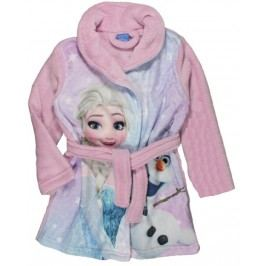 E plus M Dívčí župan Frozen - růžový