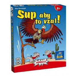 AMIGO SUP ABY TO VZAL! - karetní hra