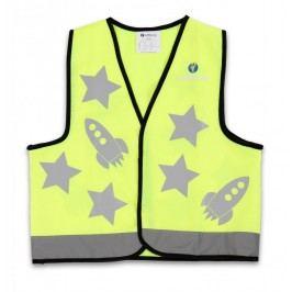 LittleLife Reflexní vesta zelená - Small