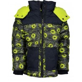 Blue Seven Chlapecká bunda - žluto-černá