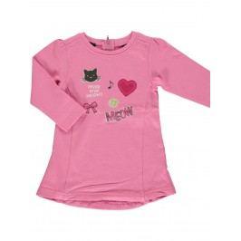 Blue Seven Dívčí šaty Meow - růžové