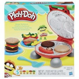 Play-Doh Burger barbecue