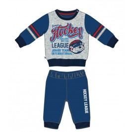 Mix 'n Match Chlapecká tepláková souprava Hockey League - modro-šedá