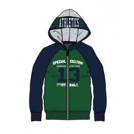 Mix 'n Match Chlapecká mikina Athletics - zeleno-modrá