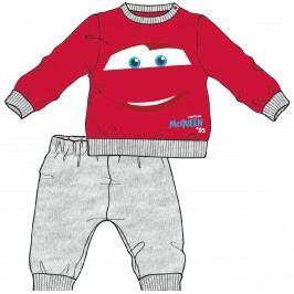 Disney by Arnetta Chlapecké pyžamo Cars - šedo-červené