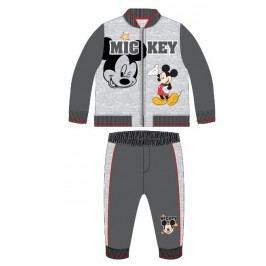 E plus M Chlapecký dvojkomplet Mickey - šedý
