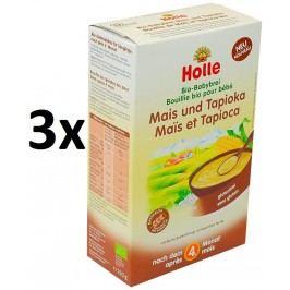Holle BIO kaše kukuřičná s tapiokou 3x250g