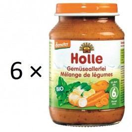 Holle BIO příkrm zeleninová směs 6x190g